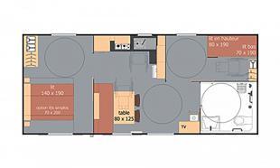 plan mobil home lodge pmr